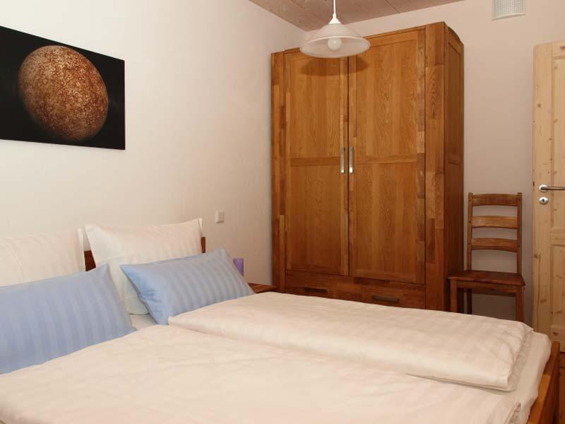 Ferienwohnung Merkur - Schlafzimmer